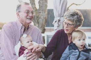 Senioří s vnoučaty
